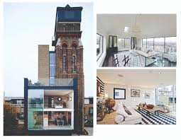 Water Tower Home From Victorian Water Tower To Fabulous London Pad Satchel