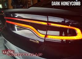 Dodge Charger Back Lights 2015 Charger Tail Light Tint Kit Type 3 Full Wrap
