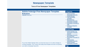 Custom Newspaper Template Access Newspapertemplate Net Newspaper Template Microsoft Word
