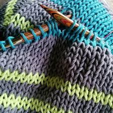 Striped Scarf Knitting Pattern Interesting Decorating