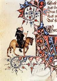 description of the prioress from chaucer s the canterbury tales portrait of the friar from the ellesmere manuscript of the canterbury tales by geoffrey chaucer