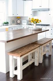 diy kitchen island bar.  Kitchen DIY Kitchen Benches Budget Ideas Farmhouse Style On Diy Island Bar