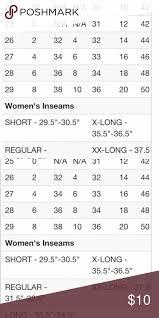Bke Jeans Size Chart Clothing Bke Size Chart