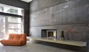 Small Picture Glamorous Interior Designs With Concrete Walls