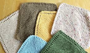 Sugar And Cream Knit Dishcloth Pattern Cool 48 Ways To Knit Diagonal Dishcloths Holes Or NoHoles