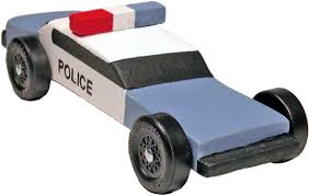 Pinewood Derby Cars Designs Police Pinewood Derby Car Design