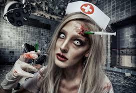 dead nurse makeup tutorial