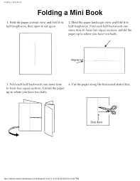 foldable book template book template mini templates free folded book template voary book foldable template