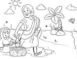 coloring pages for preschool sunday school them and try to solve