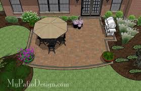 Concept Simple Patio Designs Creative And Design 420 Sq Ft In Perfect Ideas
