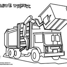 Small Picture Coloring Page Garbage Truck Archives Mente Beta Most Complete