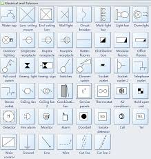floor plan symbols electrical. Reflected Ceiling Plan Symbols Electrical-Telecom Floor Electrical A