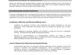 Veterinary Technician Resume Examples Download Veterinary