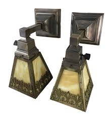 the folks at historic houseparts brushed up a pair of early 20th century sconces by