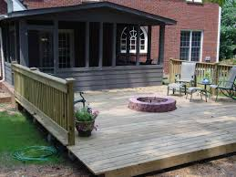 deck patio with fire pit. outdoor deck fire pit tropical daze for wood patio with d