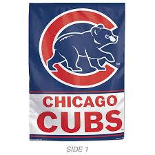 wincraft sports 1 ft w x 1 5 ft h chicago cubs garden flag