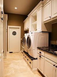 Custom Designed Lengthy Laundry Room Space Architecture Decor Folding Table  Plans Small Ideas Layout Colors Organization Makeovers Design Pictures  Sinks Mud ...