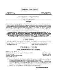 Military Resume Samples