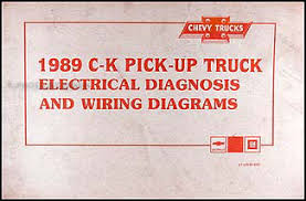chevy suburban k blazer r v pickup wiring diagram original 1989 chevy c k pickup wiring diagram manual original