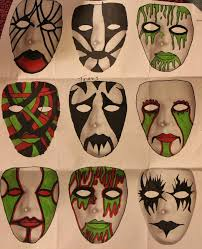 Cool Mask Designs Cool Mask Designs Mask Designs 1 By Zombis Cannibal Mask