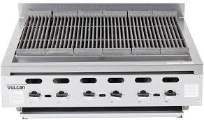 vulcan vacb36 201 102 000 btu propane gas charbroiler countertop achiever series