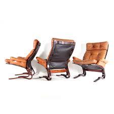 1 of 3 retro vine danish oddvin rykken leather armchair lounge chair 60s 70s ebay