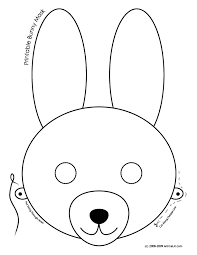 Small Picture Printable Easter Bunny and Baby Chick Masks Woo Jr Kids Activities
