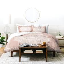 deny designs medallion blush duvet cover set 3 piece quilt blush duvet cover set pink