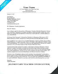 New Teacher Cover Letter Sample Sample Teaching Resume Elementary