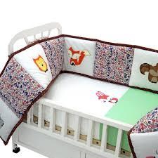 rabbit crib bedding set 5 pc