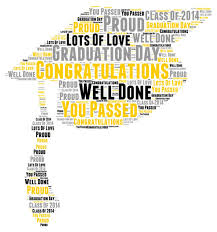 Word For Congratulations Word Of Congratulations For Graduation Magdalene Project Org