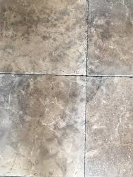 how to remove mold stains from a linoleum floor