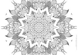 Small Picture Elaborate Mandala Coloring Pages Coloring Pages