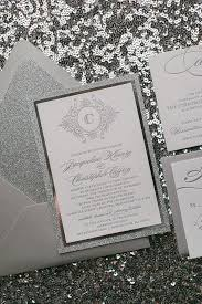 abigail suite styled fancy glitter package silver wedding Luxury Elegant Wedding Invitations abigail suite styled fancy glitter package monogram wedding invitationswedding invitations elegant Elegant Wedding Invitations with Crystals