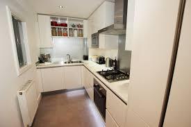 handleless compact kitchen