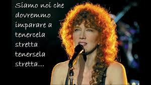 Fiorella Mannoia Che sia benedetta - YouTube