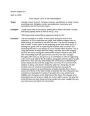 persuasive essay speech n casinos honors english  personal legend essay · 1 pages literary devices simile and trope