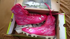 under armour breast cancer. ep. 37: pink ua highlights review - breast cancer awareness (football cleats) youtube under armour