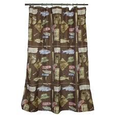 Shower Curtains Cabin Decor Rustic Shower Curtains Moose Bear Pinecone Designs