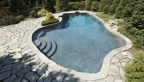 natural looking in ground pools. Natural Pools Embrace Assymetrical Shapes And Natural Materials. Looking In Ground