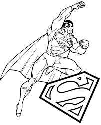 Feel free to print and color from the best 40+ superman sign coloring pages at getcolorings.com. Superman Classic Coloring Sheet