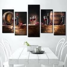 panel art multi panel wall art on canvas wine barrels bottles and grapes large multi panel  on extra large multi panel wall art with wall arts large panel wall art blue forest with starry sky extra