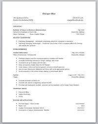 Sample Resume With No Experience Resume For Cna No Experience