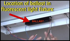 how to repair fluorescent light fixtures removeandreplace com location of ballast in fluorescent light fixture