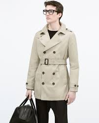 faux leather trench coat starting from 70 off man zara