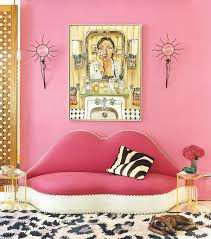 pink wall paint12 Adult Ways To Decorate With the Color Pink  StyleCaster