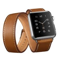 genuine leather watch band strap replacement for apple watch series 1 42mm cod