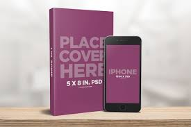 3d paperback book cover template 5 x 8 paperback book with iphone mockup covervault of 3d