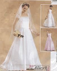 Wedding Dress Patterns To Sew Interesting Sewing Patterns Women's Wedding Formal