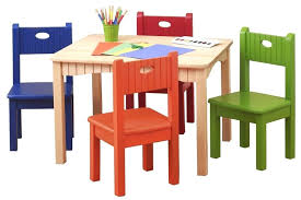 Kids Table Chair Set Chairs Toddler And Plastic Little 2 Eating